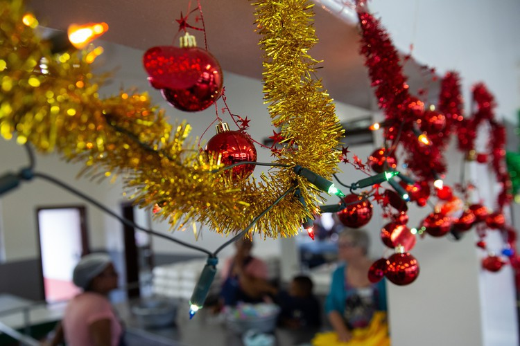 For their Christmas party, The Service Dining Rooms plan to feed at least 400 people in need.