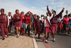 Thousands of learners in Kraaifontein protest again overcrowding