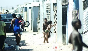 Photo of children in Blikkiesdorp