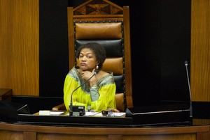 Photo of Baleka Mbete