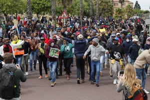 CPUT students protest over fees