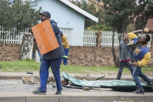 Eldorado Park residents protest over lack of houses and jobs