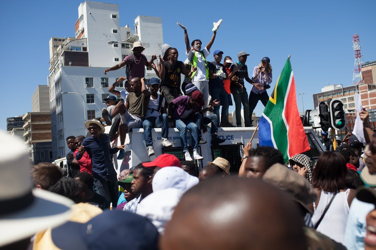Students protest for Free Education