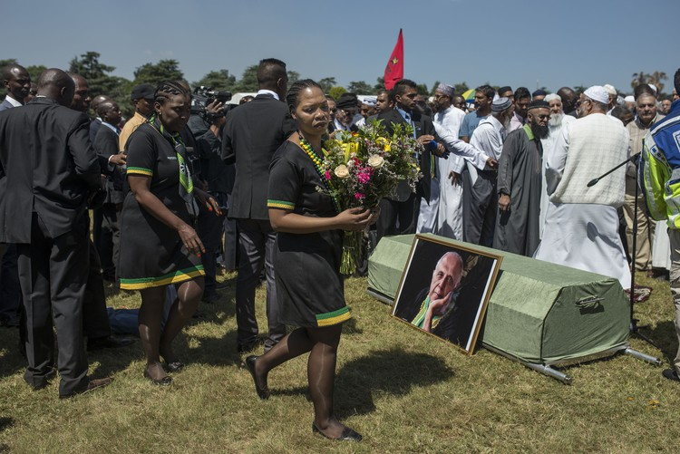 Ahmed Kathrada Funeral