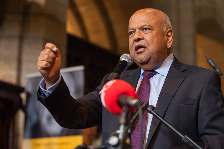 Photo of Pravin Gordhan