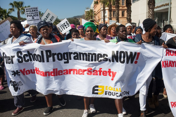 Protest for Safer Schools