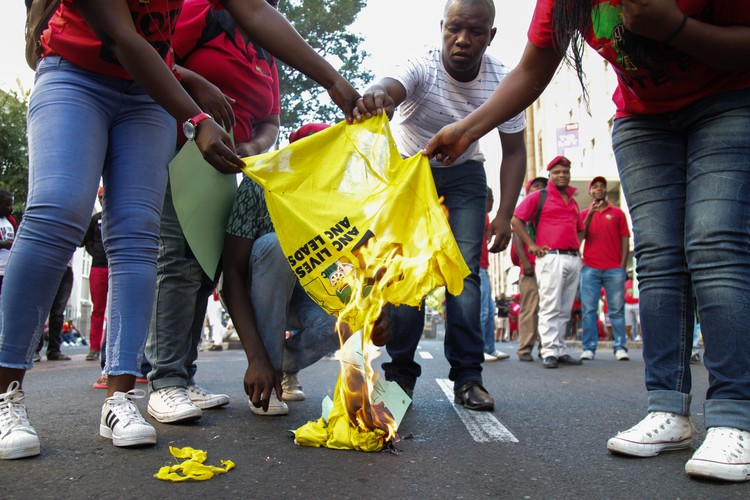 Photo of EFF supporters