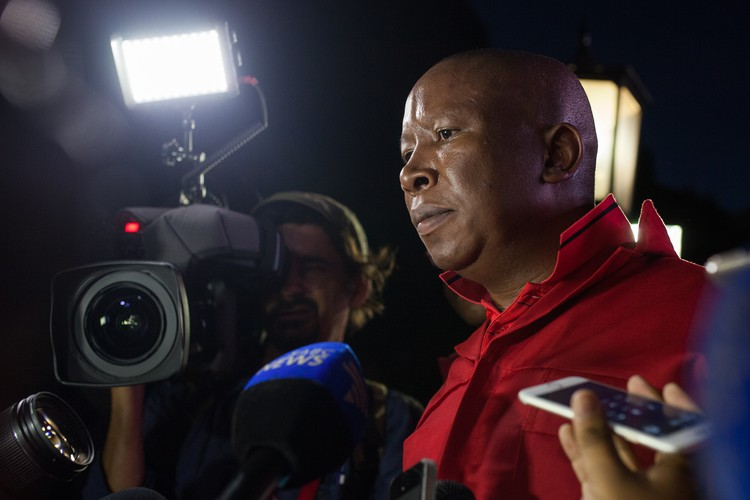 Photo of Julius Malema