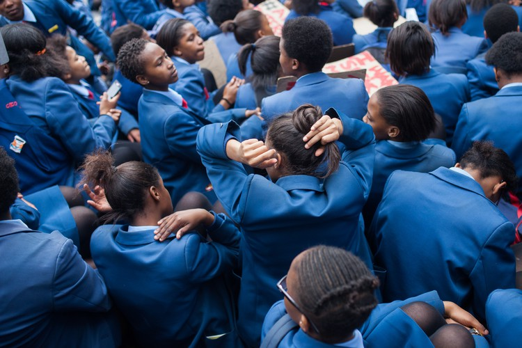 San Souci learners protest