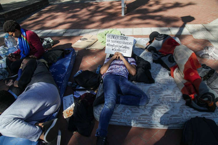 Stellenbosch University Students Protest