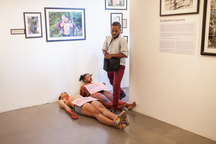 Rhodes Must Fall exhibition vandalised in UCT protest