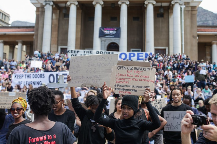 UCT Open Protest