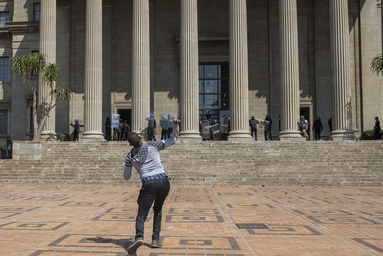 Photo of Wits student protesters