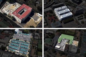 Aerial photos of properties in Cape Town