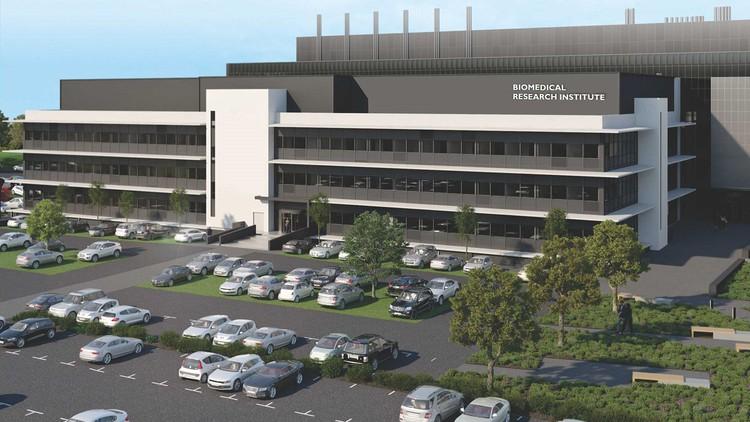 Graphic of future Biomedical Research Institute
