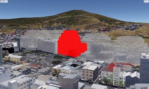 Graphic of proposed Bo-Kaap development