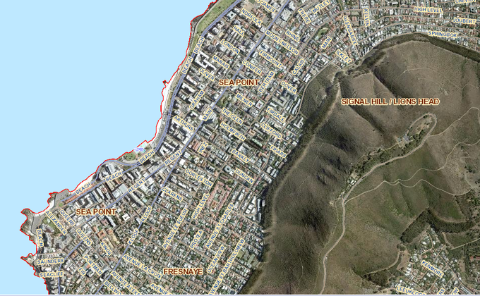Map of Sea Point
