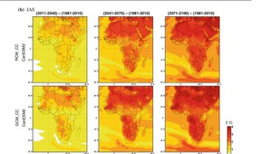 Graphic of climate maps