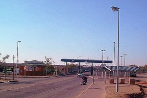 Photo of Beitbridge border post