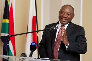 Photo of Cyril Ramaphosa