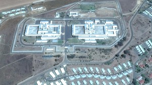 Aerial view of Helderstroom Prison
