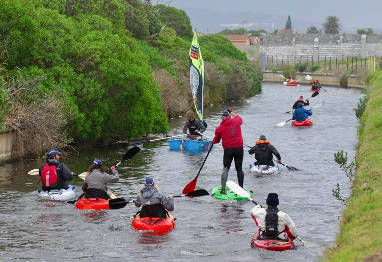 Photo of paddlers