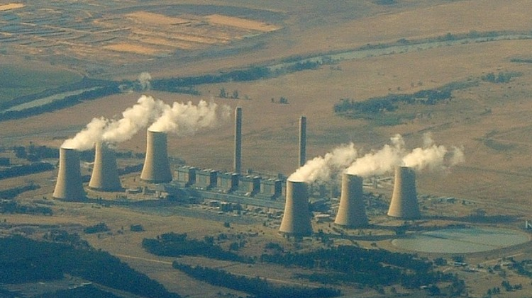 Photo of a power station