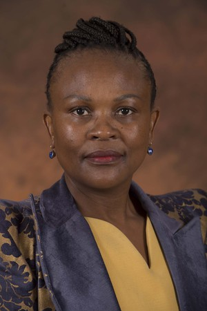 Photo of a Public Protector Busisiwe Mkhwebane