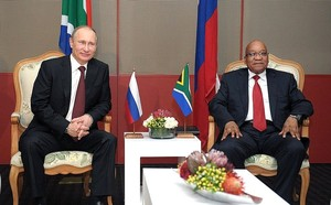 Photo of Putin and Zuma