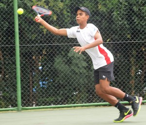 Photo of young tennis player