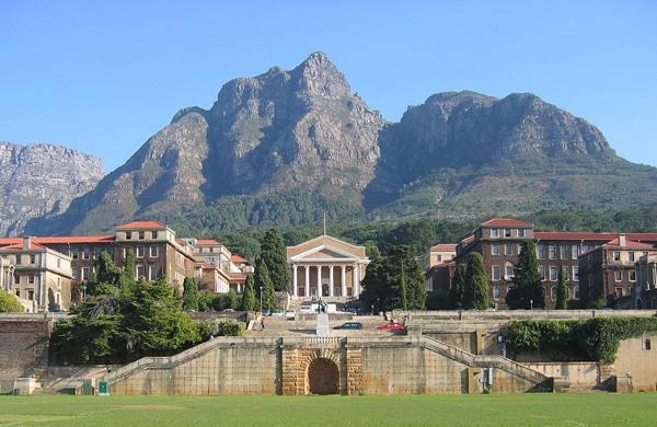 Photo of UCT campus