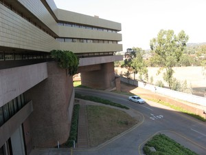 Photo of the UNISA building