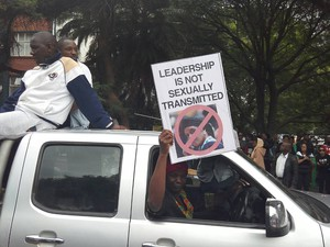 Photo of Harare protest