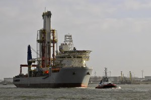 Photo of oil ship