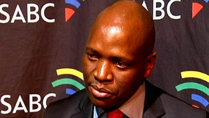 Photo of Hlaudi Motsoeneng