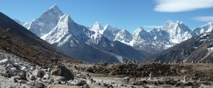 Photo of Khumbu glacier