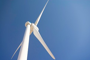 Photo of wind turbine