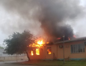 Photo of burning clinic