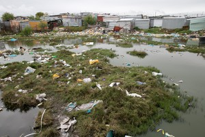 Rubbish in Marikana Informal Settlement