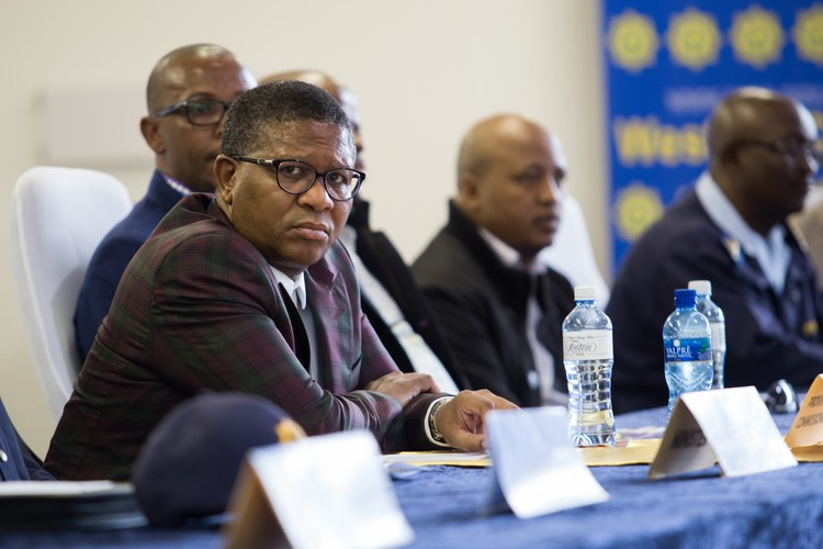 Photo of Fikile Mbalula