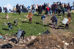 Zwelihle residents protest in Hermanus
