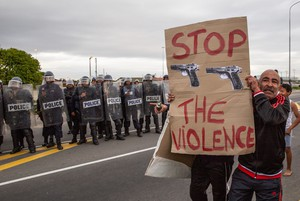 Bishop Lavis protest against gangsterism