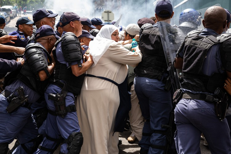 Photo of Bo-Kaap protest