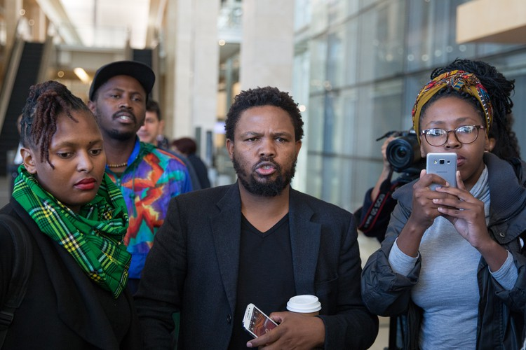 Black First Land First members denied entry at Daily Maverick The Gathering event