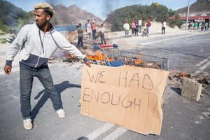 Hangberg Residents Protest