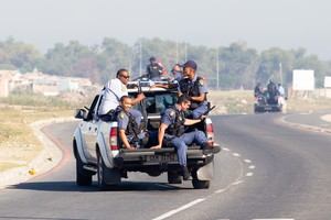Photo of a police patrol
