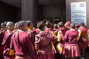 Photo of students in  uniform