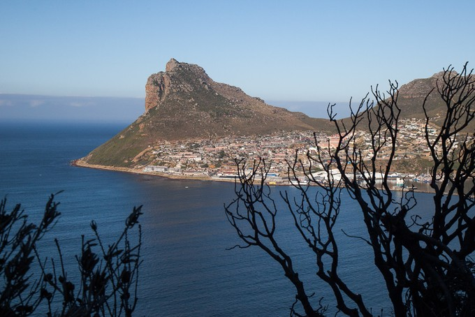 Photo of Hout Bay from Chapman\'s Peak Drive
