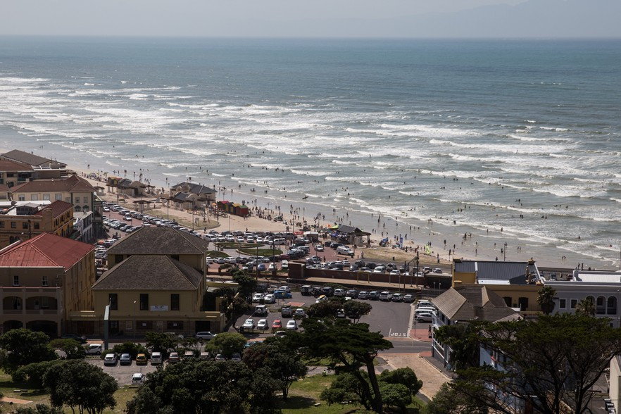 Photo of Muizenberg surfers corner