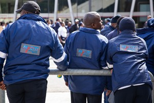 Photo of MyCiTi bus strike